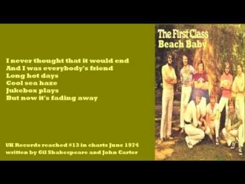 First Class - Beach Baby (+ lyrics 1974)