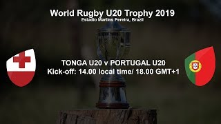 World Rugby U20 Trophy 2019 - Tonga U20 v Portugal U20