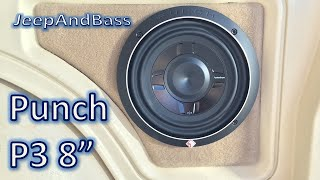 Rockford Fosgate P3 Shallow 8 Unboxing and Demo