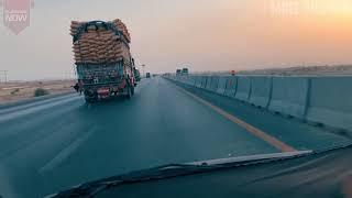 M-9 Motorway Pakistan Review | Hyderabad to Karachi | National Highway | Pakistan Motorways | Urdu
