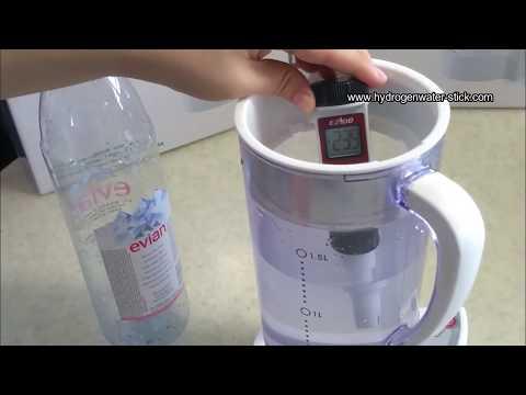 Arui Ellaim Hydrogen Water Maker Generator ORP Test