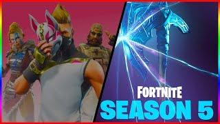 NEW SEASON 5 SKINS | Fortnite Battle Royale