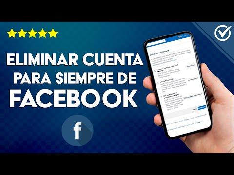 Cómo Borrar o Eliminar tu Cuenta de Facebook para Siempre paso a paso