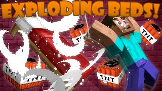 Why Beds Explode in The Nether - Minecraft