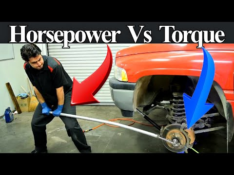 Torque and Horsepower Explained - What They are and How They are Different