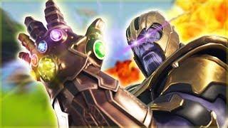 Cuando eres Thanos en Fortnite