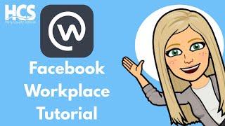 Facebook Workplace Tutorial screenshot 1