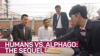 Here we 'Go' again: Humans to battle Google AlphaGo AI in ancient game