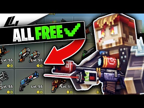 Use This Promo Code To Get EVERYTHING For FREE In Pixel Gun 3D! (UNLIMITED GEMS & COINS!)