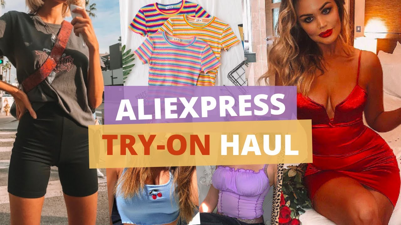 ALIEXPRESS TRY-ON HAUL SUMMER EDITION 2020 #7