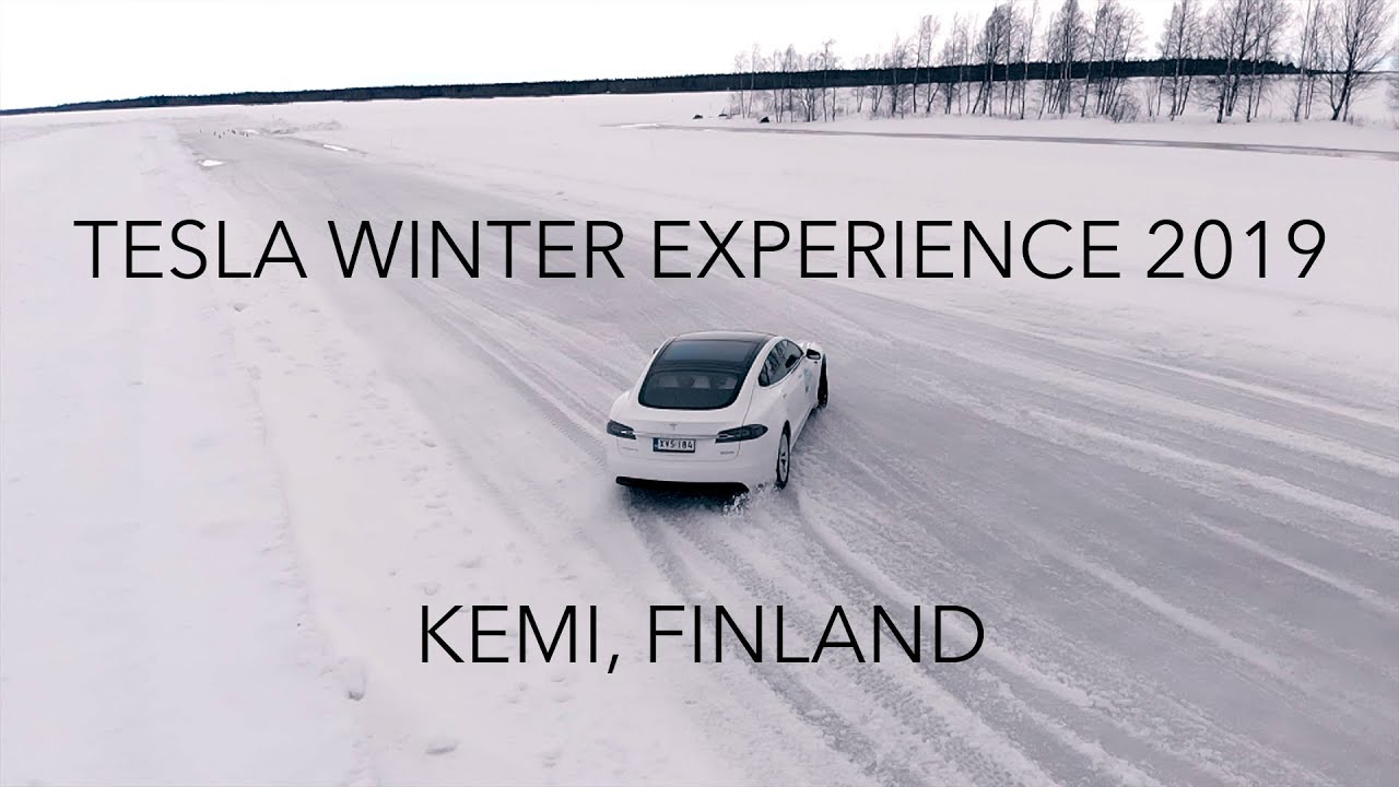 Tesla Winter Experience 2019