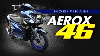 Aerox Sporty Modifikasi Harian