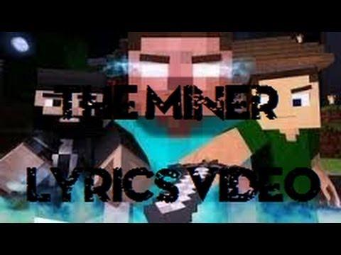 ♫ 'The Miner' Lyrics On Screen (Minecraft Parody Of The Fighter By AntVenom)♫