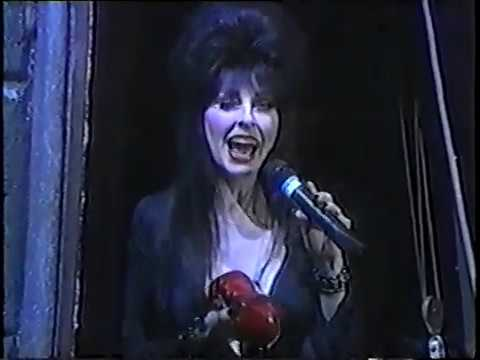KCAL Halloween Screams 1997 with Elvira