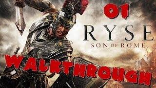 Ryse Son of Rome - Walkthrough 01 FR PC HD 60 FPS