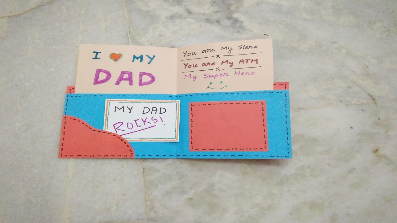 Birthday Cards Diy For Dad ~ Pink and green mama easy heartfelt diy fingerprint cards for dads