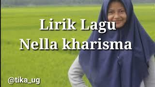 Lirik Nella kharisma Sayang 9