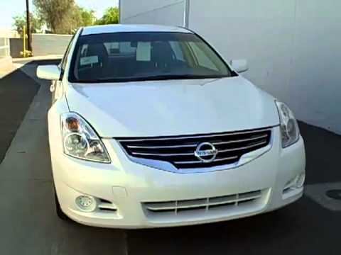 N7120 2012 Nissan Altima Winter Frost Pearl Youtube