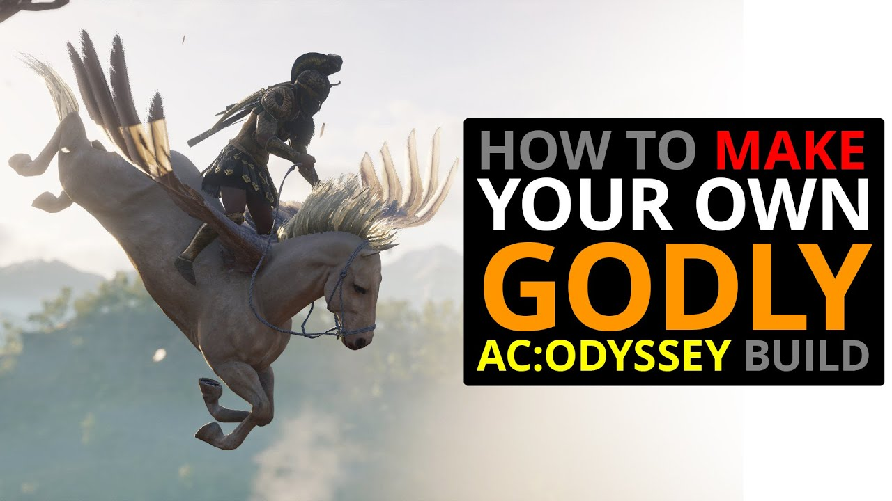 How To Make Your Own Godly Ac Odyssey Build Youtube