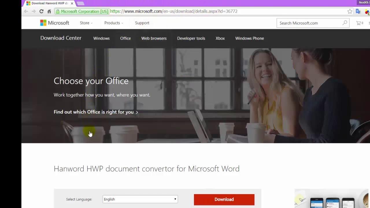 how to open hwp  hwp  hanword document  file in microsoft