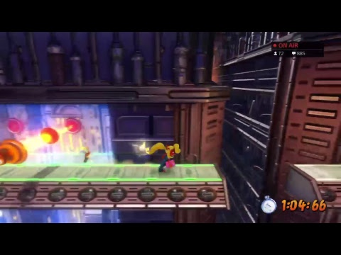 Crash 3 108% Speedrun (First Attempt)