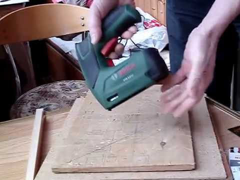 BOSCH DIY: PTK 3.6 - 10 мм фанера и мебельный оргалит