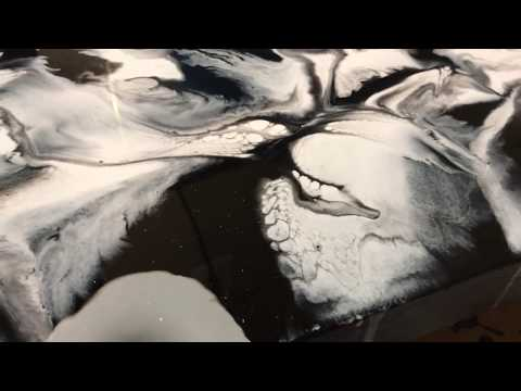 Resin Art| Simple is Beautiful | Black and White