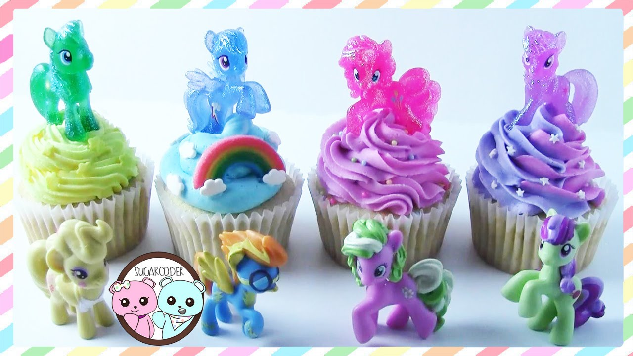 My Little Pony Cupcakes My Little Pony Cake By Sugarcoder Youtube