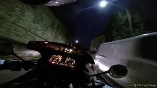 BMW K1 ride hidden roads Upper Town Bergamo