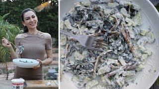 Летний Холодный Салат из Портулака и Огурцов - Армянская Кухня - Рецепт от Эгине - Heghineh