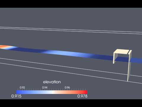 3D OWC Wave Energy Device Simulation with REEF3D
