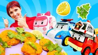 Фото Игры для детей Кухня! Маша Капуки Кануки и машинки готовят вместе. Видео с игрушками