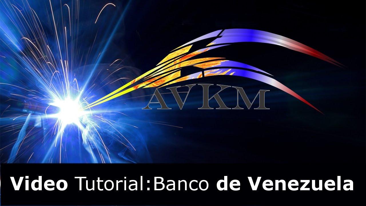 Banco de venezuela solicitud de credinomina youtube for Banco de venezuela clavenet personal