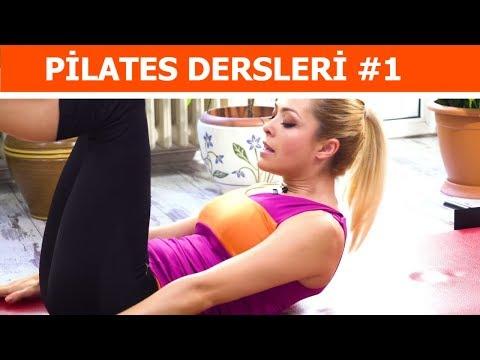 Tüm Vücudu Sıkılaştıran 50 Dakika Pilates Egzersizi 1. Bölüm