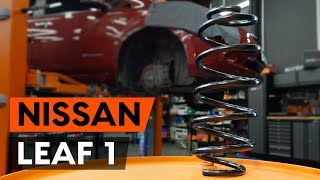 rear and front Wheel Hub installation NISSAN LEAF: video manual