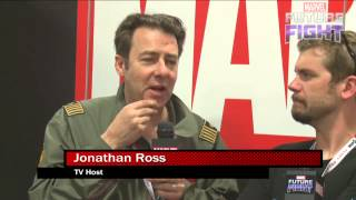 Jonathan Ross Talks Prized Marvel Possessions on Marvel LIVE! at San Diego Comic-Con 2015