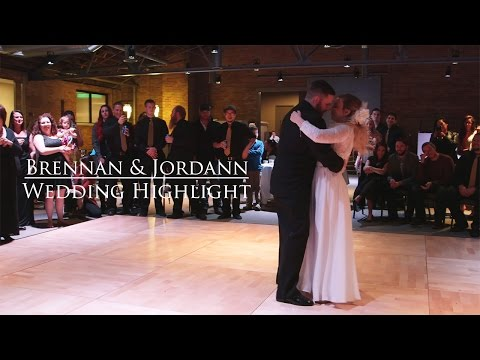 Brennan & Jordann | Utah Wedding Highlight // Reign Media
