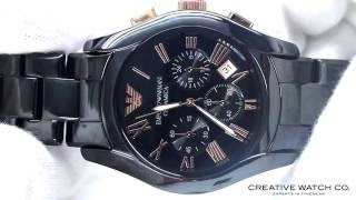 Hands On With The Men's Emporio Armani Watch AR1410