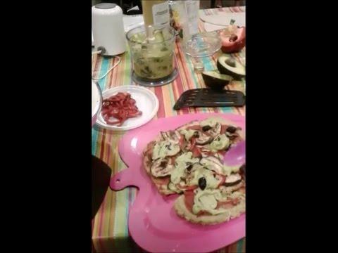 Show cooking fruttariano 3M - insalata capricciosa carpotecnica e pizza carpotecnica