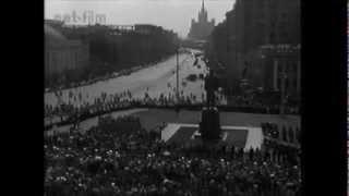 Открытие памятника Маяковского