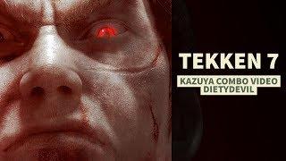 Tekken 7 - Kazuya Combo Video | DietyDevil thumbnail
