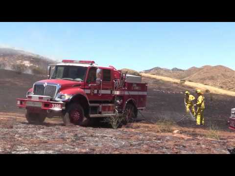 Jamul: Day 1 of the Gate Fire 05202017