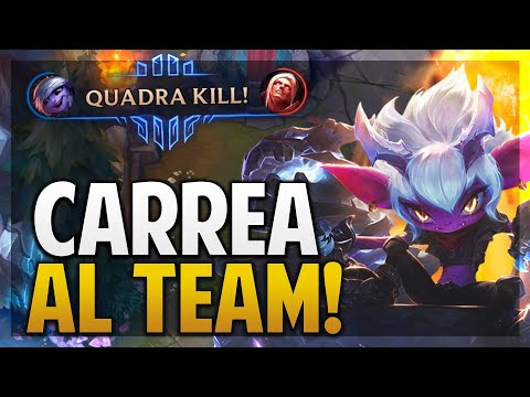 ¡INICIO MAL PERO TERMINO CARREANDO LA PARTIDA  TRISTANA ADC  League of Legends