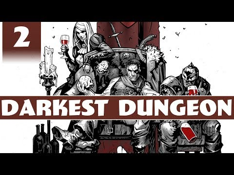 Darkest Dungeon - Crimson Court DLC Gameplay - Part 2 - The Courtyard