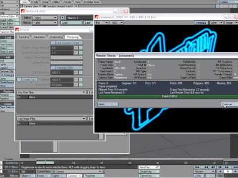 neon text tutorial in newtek s lightwave 3d youtube rh youtube com
