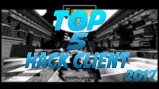 TOP 5 MEJORES HACK CLIENT PVP MINECRAFT 2017 Video