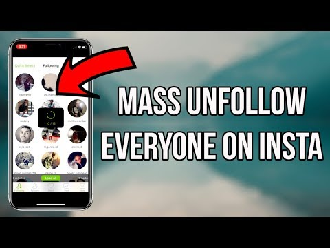 Unfollow Everyone on Instagram In a Step - InstaFollowers