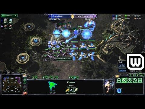 Winter Starcast #10 - Neeb (Protoss) vs Scarlett (Zerg) - The Tides of War