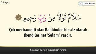 Yasin suresi anlamı dinle Mishary Rashid al Afasy (Yasin suresi arapça yazılışı okunuşu ve meali)