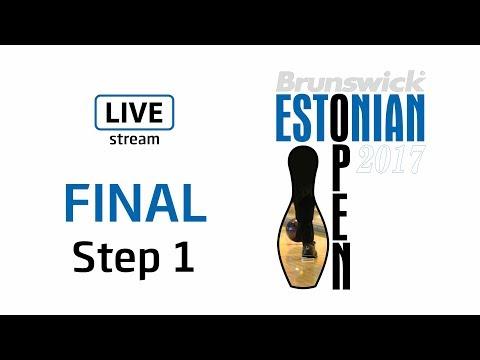 Brunswick Estonian Open 2017 - FINAL - Step 1 - Live Stream